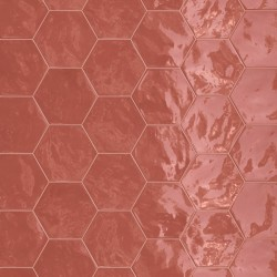 Hexagon Wall Cherry Pie