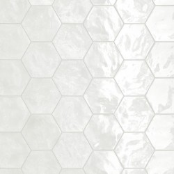 Hexagon Wall Lemon Sorbet